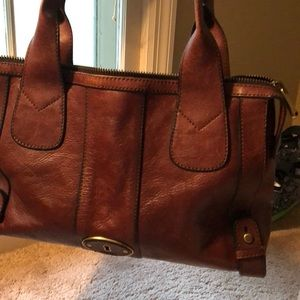 Fossil Reissue satchel purse.